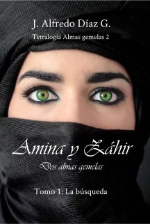 Portada novela Amina y Zahir