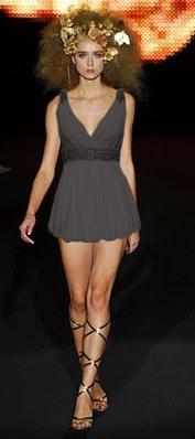 vestuario griego corto Amina