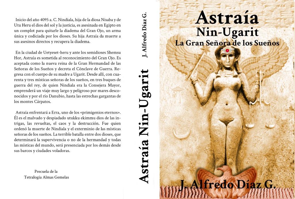 Portada novela Astraia