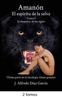 Portada novela Amanon, el espiritu de la selva